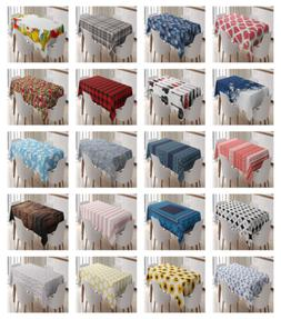 3 size kitchen rectangle tablecloth decor dining