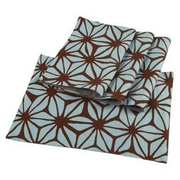 Juvale 4-Pack Cloth Placemats Set - Dining Table Mats with B