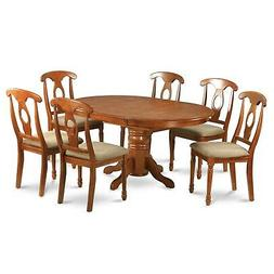 5-piece Dining Table Having Leaf and 4 Kitchen Chairs