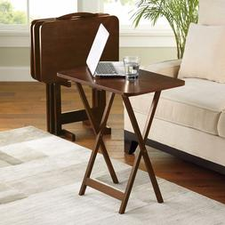 5 Piece Portable Folding Table Set Lightweight Indoor Picnic