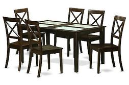 East West Furniture 7pc dining set, Capri kitchen table with