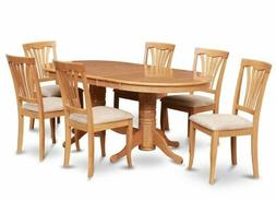 East West Furniture 9 Pc Dining Set Dining Table with Leaf a