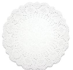 Juvale Lace Doilies Paper 250 Pack Set- Decorative Round Pla