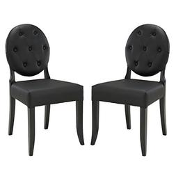 Button Dining Side Chair - Set of 2 by Modway