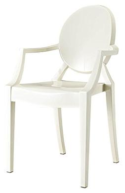 Casper Dining Armchair in White
