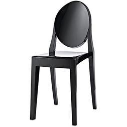 Casper Dining Side Chair in Black