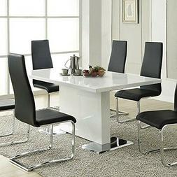 Coaster Home Furnishings 102311 Casual Dining Table White