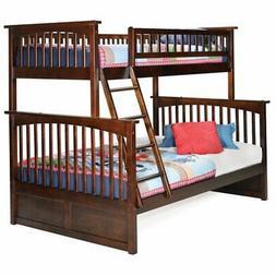Atlantic Furniture Columbia Twin over Full Bunk Bed