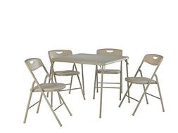 Cosco 5 Piece Folding Table and Chair Set