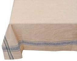 Yourtablecloth Cotton Fabric Tablecloth – French Nautical