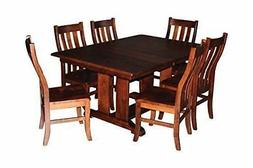 Custom Wood Dining Room Table ONLY Kitchen Home Furniture Am