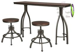 Signature Design By Ashley D284-113 Odium Dining Table, 3Pc