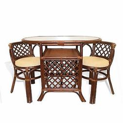 dining borneo set of oval table w