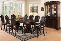 Dining Room Furniture Formal 9pc Dining Set Arm Chairs Dinin
