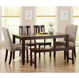 Dining Room Table Set Kitchen Tables And Chairs Modern Recta