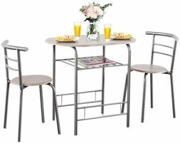 dining set table and 2 chairs kitchen