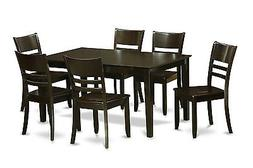 7 piece dining table set for 6-Dining table and 6 Chairs