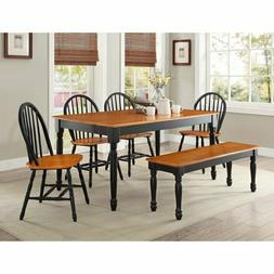 DINING TABLE Wood Kitchen Office Desk Modern Farmhouse Room