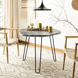 Safavieh DTB6500B Home Collection Mindy Wood Top Dining Tabl