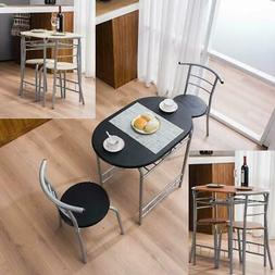 Durable Home Kitchen 3 Color Dining Set Table and 2 Chairs B