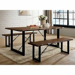 Furniture of America Elsbeth 3 Piece Extendable Dining Set i