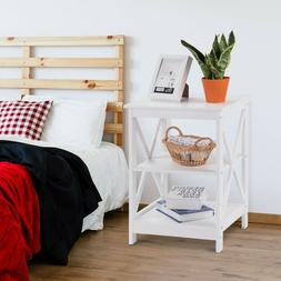 End Table Side for Living Room Bedroom with Storage Sofa Cha