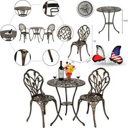 European Style Cast Aluminum Outdoor Dining Table Table And