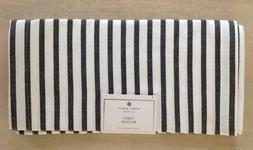 Sugar Paper Los Angeles EXTENDED LENGTH BLACK WHITE STRIPE T