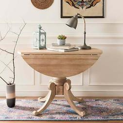Safavieh Forest Rustic Natural Drop Leaf Dining Table - Rust