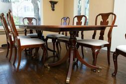 Baker Furniture Historic Charleston Georgian Mahogany Pedest