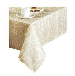 Gateway Geometric Print Zippered Umbrella Tablecloth
