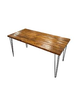 ThorWoods Handmade Rustic Distressed Real Wood Desk & Dining