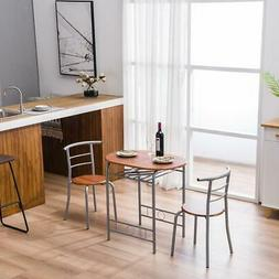home kitchen 3 piece dining set table