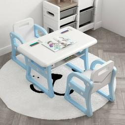 Kid's Table and Chair Set Toddler Activity Chair Child Dinin