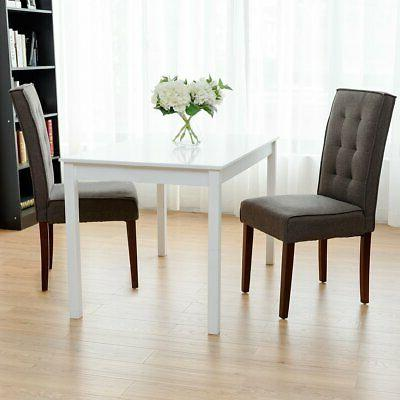 Giantex 2 Dining Chair Bedroom Mo...