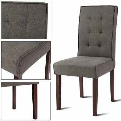 Giantex 2 Dining Chair Bedroom Armchairs Mo...