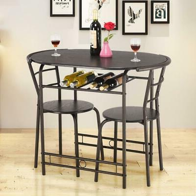 3 pcs dining set table and 2