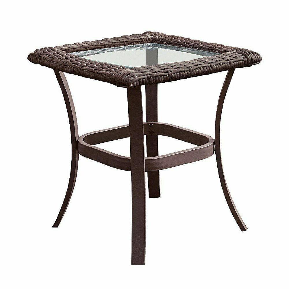 Giantex Rattan Wicker Furniture Coffee Rocking