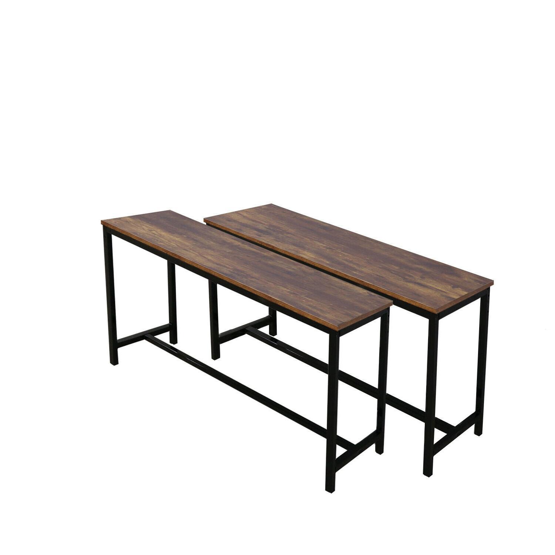 3 Set Bench Metal Kitchen Furniture