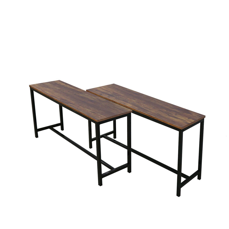 3 Set Glass Metal Kitchen Room Breakfast Furniture