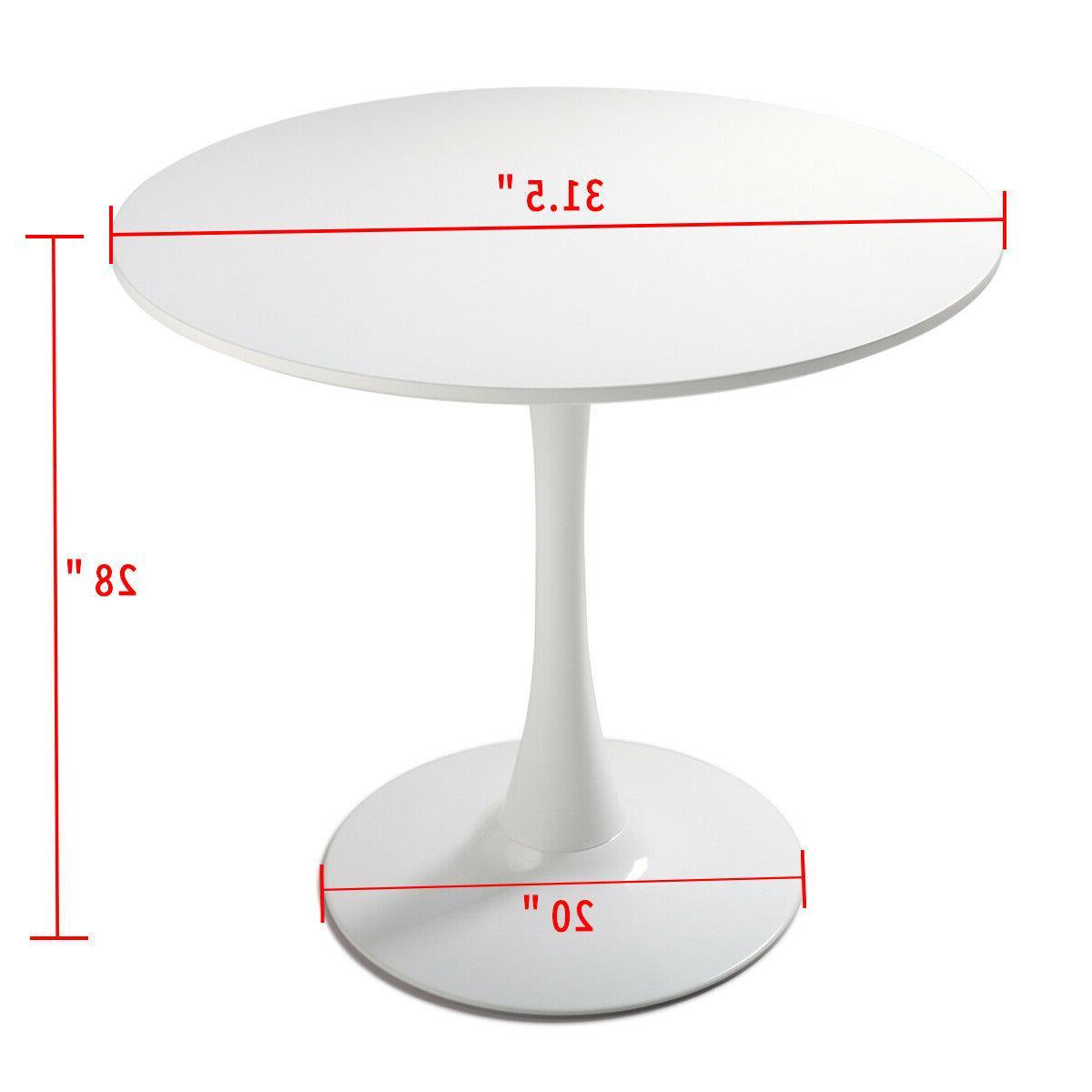White ,Tulip Design Table