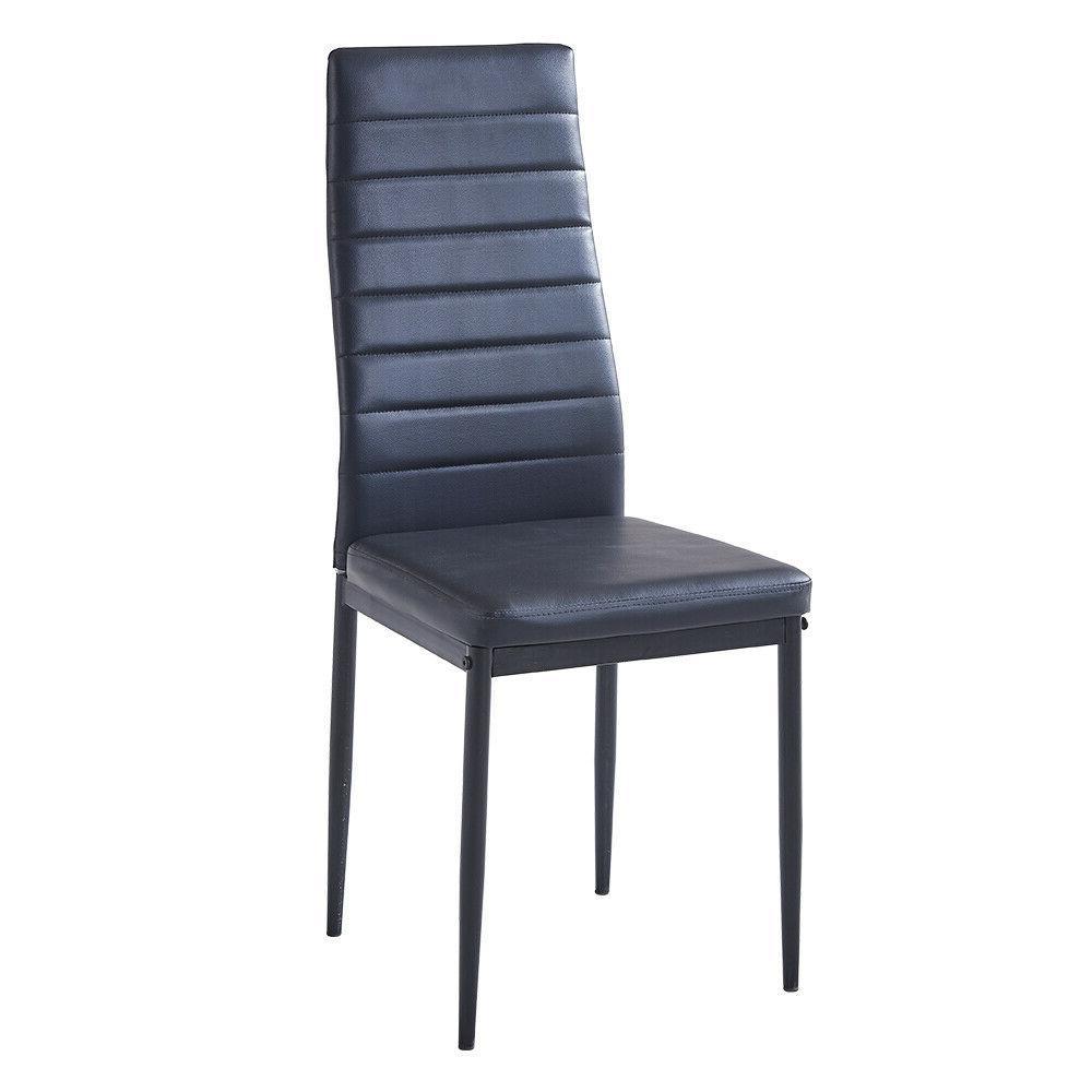 4 Pcs Dining Metal Leg Kitchen Furniture