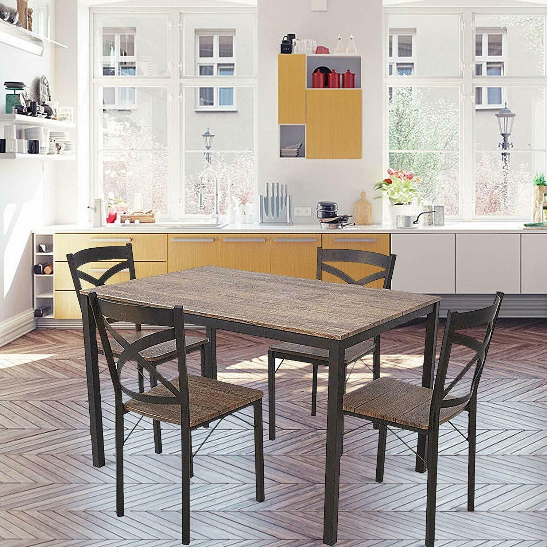 5-piece Breakfast W/ Set of Chairs