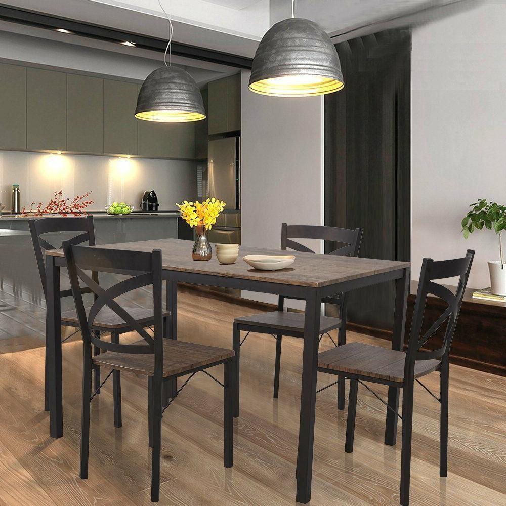5 piece kitchen furniture set solid breakfast