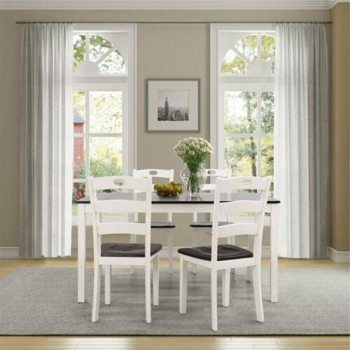 5pccs/Set Table Chair Room Home Fourniture