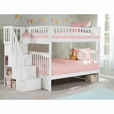 Atlantic Furniture Full Over Bed
