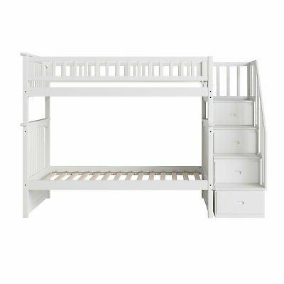 Atlantic Furniture Twin Over Bunk Bed