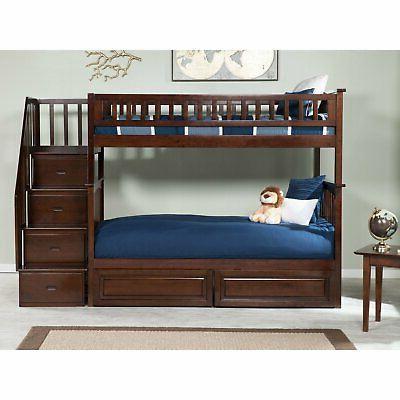 Atlantic Furniture Twin Twin Bunk Bed