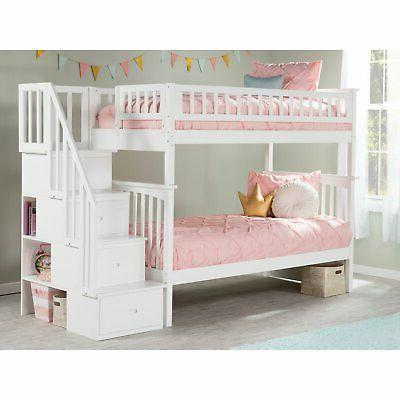 Atlantic Furniture Twin Over Bed