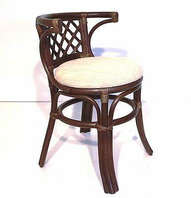 Dining Borneo of Oval w/Glass Top 2 Chairs Natural Dark